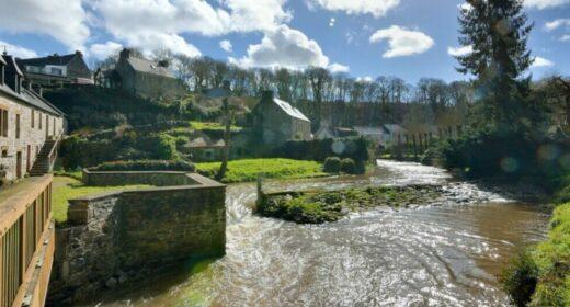 La rivière Le Guindy en Bretagne dans le Trégor